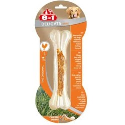 8 ın 1 - 8 İn 1 Delights Bones Köpekler İçin Ağız Bakım Pres Kemiği Large (1)