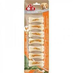 8 ın 1 - 8 İn 1 Delights Bones Köpekler İçin Ağız Bakım Press Kemiği Small 7 Li