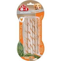 8 ın 1 - 8 İn 1 Delights Bones Köpekler İçin Twisted Sticks 10 Lu