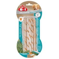 8 ın 1 - 8 İn 1 Delights Prodental Köpekler İçin Twisted Sticks 10 Lu