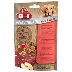 8 ın 1 - 8 İn 1 Meaty Treats Ördek Etli Ve Elma Kurutulmuş Tahılsız Köpek Ödülü 50 Gr 661443 (1)