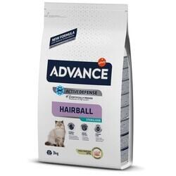 Advance - Advance Cat Sterilized Hairball Hindili Kısır Kedi Maması 3 Kg. (1)