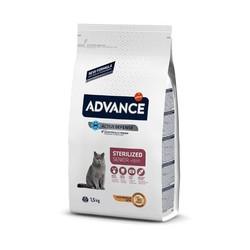 Advance - Advance Cat Sterilized Kısırlaştırılmış Yaşlı Kedi Maması 1,5 Kg. (1)
