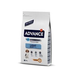Advance - Advance Light Medium Orta Irk Köpekler İçin Light Mama 3 Kg.