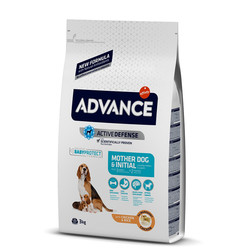 Advance - Advance Mother Dog & Intial Anne Ve Yavru Köpekler İçin Mama 3 Kg. (1)