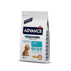 Advance - Advance Puppy Medium Orta Irk Yavru Köpek Maması Tavuklu 3 Kg.
