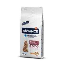 Advance - Advance Senior Medium Orta Irk Yaşlı Köpekler İçin Mama 12 Kg. (1)
