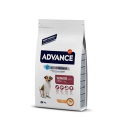 Advance - Advance Senior Mini Küçük Irk Yaşlı Köpek Maması 3 Kg. (1)