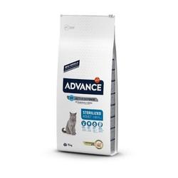 Advance - Advance Sterilized Kısırlaştırılmış Kedi Maması Hindili 15 Kg. (1)
