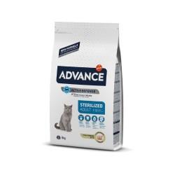 Advance - Advance Sterilized Kısırlaştırılmış Kedi Maması Hindili 3 Kg.