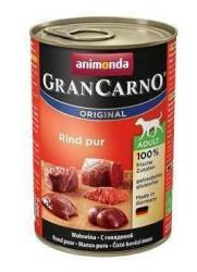 Animonda - Animonda Gran Carno Biftekli Köpek Konservesi 400 Gr.