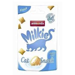 Animonda - Animonda Milkies Fresh Dental Care Diş Sağlığı Tahılsız Kedi Ödülü 30 Gr (1)