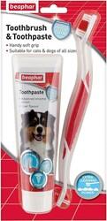Beaphar - Beaphar Köpek Diş Fırçası Ve Diş Macunu Seti
