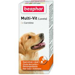 Beaphar - Beaphar Laveta Carnitine Köpek İçin Tüy Vitamini 50 Ml