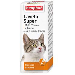 Beaphar - Beaphar Laveta Taurine Cat Kediler İçin Tüy Dökülmesine Karşı Vitamini 50 Ml
