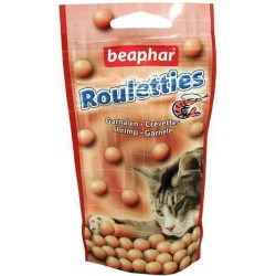 Beaphar - Beaphar Rouletties Karidesli Kedi Ödül Tableti 44.2 Gr