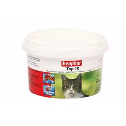 Beaphar - Beaphar Top 10 Cat Kediler İçin Komple Vitamin 180 Tablet