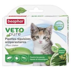 Beaphar - Beaphar Yavru Kedi İçin Bio Spot On Pire Damlası 3 Pipet