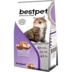 Best Pet - Bestpet Cat Mix Adult Karışık Yetişkin Kedi Maması 1 Kg. (1)