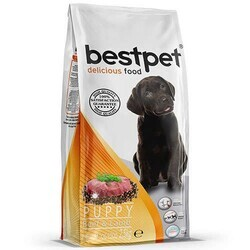 Best Pet - Bestpet Delicious Puppy Biftek Ve Kuzu Etli Yavru Köpek Maması 2.5 Kg. (1)