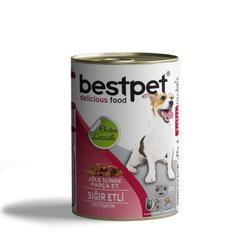 Best Pet - Bestpet Jöle İçinde Parça Sığır Etli Köpek Konservesi 415 Gr. (1)