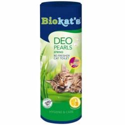 Biokats - Biokats Deo Pearls Kedi Kumu Parfümü Bahar Kokulu 700 Gr