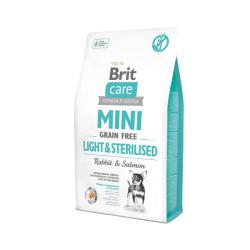 Brit Care - Brit Care Tahılsız Mini Light Sterillised Tavşanlı Köpek Maması 2 Kg.