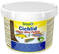 Tetra - Tetra Cichlid Algae Mini Ciklet Balık Yemi 3.9kg 10 Litre Kova Yem