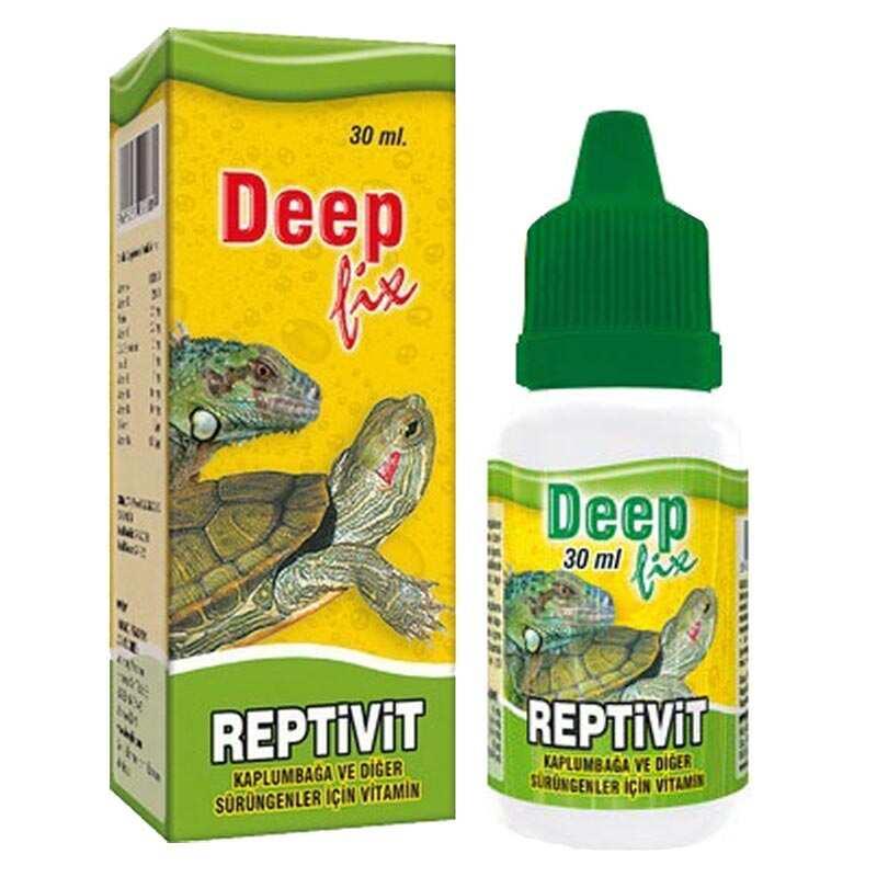 Deep - Deep Reptivit Kaplumbağa Ve İguana Vitamini 30 Ml.