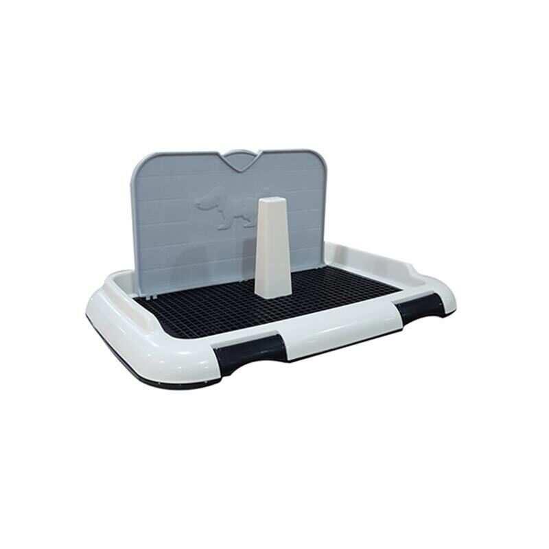 Dıll - DIIL Duvar Koruma Panelli Köpek Tuvaleti Siyah 46,5 Cm.