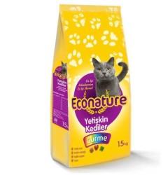 Econature - Econature Gurme Yetişkin Kedi Maması 15 Kg.