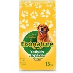 Econature - Econature Kuzulu Yetişkin Köpek Maması 15 Kg.