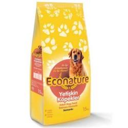 Econature - Econature Somonlu Yetişkin Köpek Maması 15 Kg.