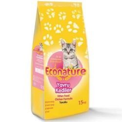 Econature - Econature Yavru Kedi Maması 15 Kg. (1)