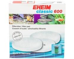 Eheim - Eheim Classic 600 Yedek Elyaf 3'Lü