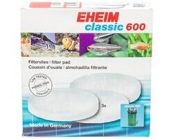 Eheim - Eheim Classic 600 Yedek Elyaf 3'Lü (1)