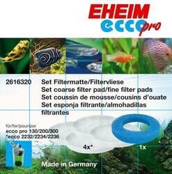 Eheim Ecco Pro 2032-2034-2036 Elyaf ve Sünger Seti