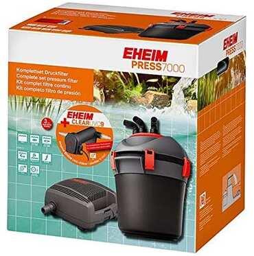 Eheim - Eheim Press 7000 ve Clear UVC 9 Set