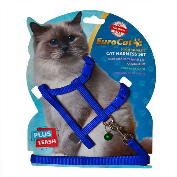 EUROCAT - EuroCat Kedi Göğüs Tasması Mavi
