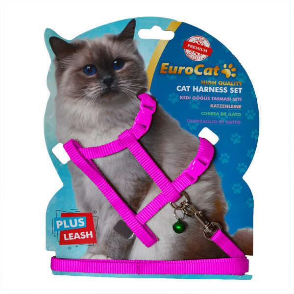 EUROCAT - EuroCat Kedi Göğüs Tasması Pembe