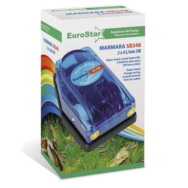 Eurostar - EuroStar Marmara Hava Motoru Çift Çıkışlı 2x4 L 5W