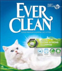 Ever Clean - Ever Clean Extra Strength Ekstra Güçlü Kedi Kumu 6 Kg