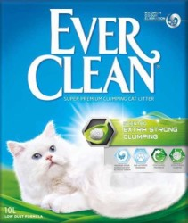 Ever Clean - Ever Clean Extra Strength Ekstra Güçlü Kokulu Kedi Kumu 10 Litre