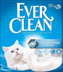 Ever Clean - Ever Clean Extra Strength Unscented Ekstra Güçlü Kokulu Kedi Kumu 6 Kg