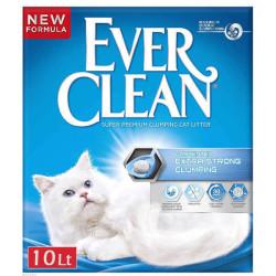 Ever Clean - Ever Clean Extra Strong Unscented Kokusuz Topaklaşan Kedi Kumu 10 Litre
