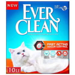 Ever Clean - Ever Clean Fast Acting Doğal Bitki Özlü Topaklaşan Kedi Kumu 10 Litre