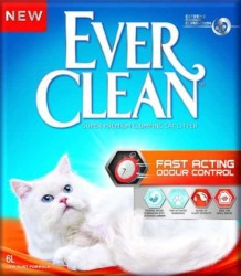 Ever Clean - Ever Clean Fast Acting Hızlı Koku Emen Kedi Kumu 6 Litre