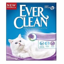 Ever Clean - Ever Clean Lavender / Lavanta Kokulu Topaklaşan Kedi Kumu 10 Litre