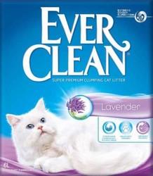 Ever Clean - Ever Clean Lavender / Lavanta Kokulu Topaklaşan Kedi Kumu 6 Litre