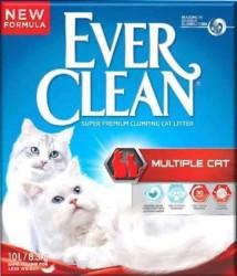 Ever Clean - Ever Clean Multiple Cat Extra Güçlü Topaklaşan Kedi Kumu 10 Litre